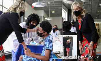 Jill Biden heads to Mississippi and Tennessee to push COVID vaccines