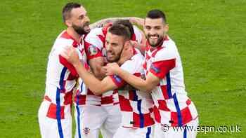 Croatia down Scotland to reach Euro last-16