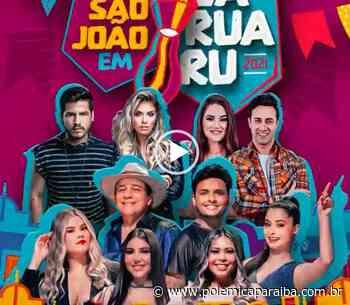 São João de Campina Grande: confira as atrações que farão live nesta quarta-feira - VEJA VÍDEOS - Polêmica Paraíba