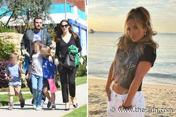 Jennifer Garner feels it's 'way too soon' for JLo to meet her kids with ex Ben Affleck as couple's romance... - The US Sun