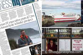 Sea trials for CalMac ferry crisis 'stop-gap' catamaran | Austrian IT executive bankrolls distillery - Times News Express