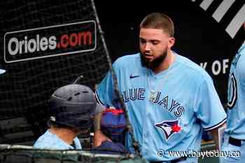 Jays pitcher Manoah suspended five games for throwing at Oriole