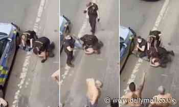 The 'Czech George Floyd': Video of policeman kneeling on neck of Romany man echoes US death