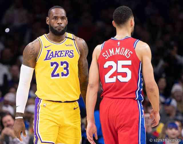 Lakers Among Betting Favorites To Land 76ers' Ben Simmons Via Trade