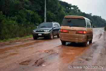 Pobladores denuncian mal estado de la ruta San Juan Nepomuceno - Nacionales - ABC Color