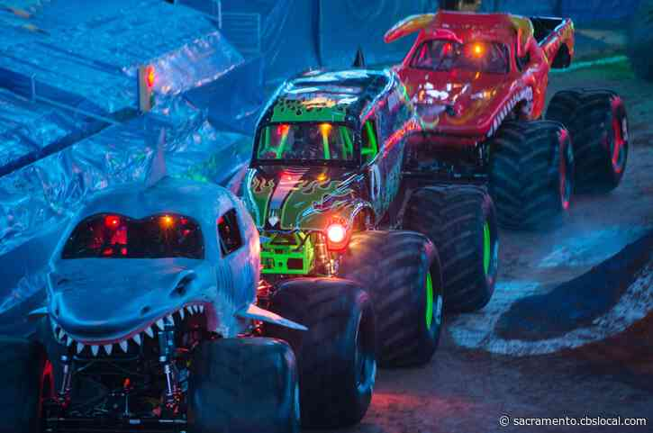 Monster Jam Set To Be One Of The 1st Full Capacity Events At Golden 1 Center Since Pandemic