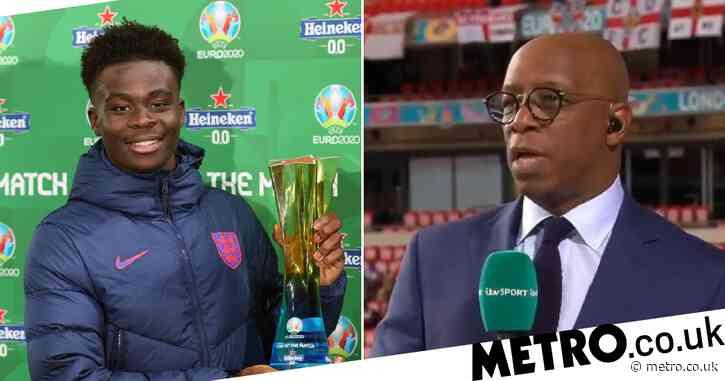 Ian Wright and Ashley Cole hail 'brilliant' Bukayo Saka after England beat Czech Republic at Euro 2020