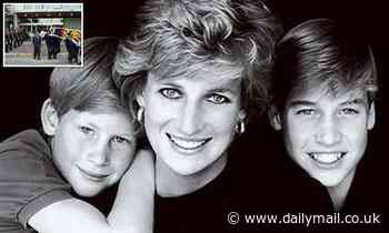 Last days of Princess Diana: Picture of her boys is placed in her hands.. but one earring is missing