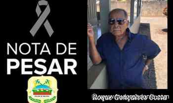 Nota de pesar - Câmara Municipal de Rolim de Moura Pelo falecimento do senhor Roque Gonçalves Costa - Tudo Rondônia