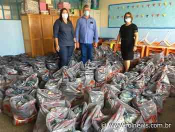 Rolim de Moura: Semec inicia a entrega do Kit de Alimentação Escolar - ROLNEWS