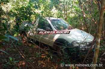 Veículo furtado da IDARON em Rolim de Moura acaba de ser recuperado pela Polícia Militar do 10º Batalhão - ROLNEWS