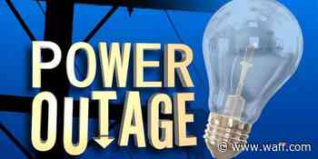 Car strikes utility pole causing power outage in north Huntsville - WAFF