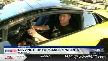 Huntsville survivor gives back: 'I just want them to forget about the cancer and smile a while' - WAFF