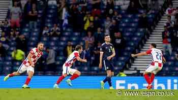 Modric, Croatia prolong Scotland's tournament woes