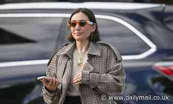 Zoe Foster-Blake visits Joel Edgerton and Christine Centenera after they welcome their first child