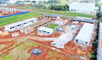 Construções de escolas em Arapongas chegam a 30% de execução - TNOnline - TNOnline