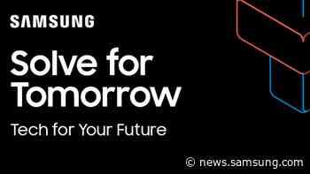Solve for Tomorrow: Innovationsprogramm von Samsung sucht nachhaltige Ideen für die Zukunft - Samsung Newsroom Deutschland