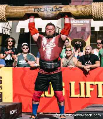 The world's third strongest man lives in Thunder Bay (2 Photos) - Tbnewswatch.com