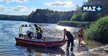 Großer Lienewitzsee in Michendorf: Taucher suchen nach vermisster Person - Märkische Allgemeine Zeitung