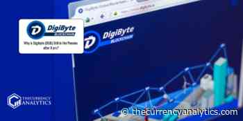Why is Digibyte (DGB) Still in the Pennies after 8 yrs? - The Cryptocurrency Analytics