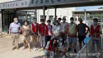 Benjamin Nivet soutient la collecte de sang au collège Pithou à Troyes - L'Est Eclair