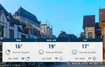 Troyes et ses environs : météo du mardi 22 juin - L'Est Eclair