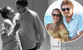 AFL: Geelong's Gary Rohan cuddles up to his physio girlfriend Madi Bennett
