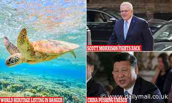 China accused using UNESCO puppet against Australia over Great Barrier Reef  world heritage listing