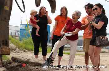 Friendship Centre breaks ground on traditional healing garden - My Grande Prairie Now