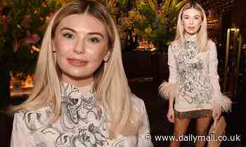 Georgia Toffolo wows at Poppy Jamie's star-studded book launch party