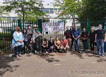 Rungis: au collège les Closeaux, les enseignants en grève contre leur direction - 94 Citoyens
