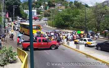 Bloquean carretera federal México-Acapulco por falta de luz - El Sol de Acapulco