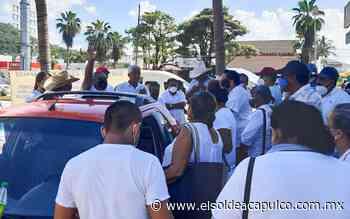Tras protesta 'Directivos Unidos de Acapulco' se reunirán con Heriberto Huiochea - El Sol de Acapulco