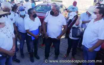 Protestan maestros en el bulevar de las Naciones - El Sol de Acapulco