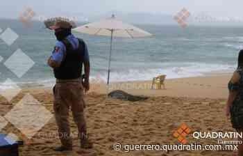 Muere turista ahogada en playa Condesa de Acapulco - Quadratin Guerrero