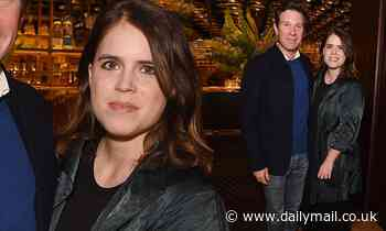 New parents Princess Eugenie and Jack Brooksbank enjoy baby-free evening out at book launch party