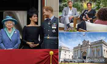Harry and Meghan hang on to a place in the Queen's heart as they are included in major exhibition