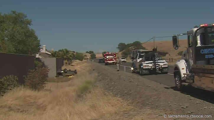 CHP: Driver Killed, Child Injured In Rancho Murieta Crash
