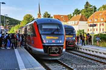 Bahnhof Tauberbischofsheim: Nachfragestarke Züge auf Gleis eins - Tauberbischofsheim - Nachrichten und Informationen - Fränkische Nachrichten