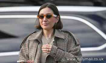Zoe Foster-Blake flaunts new large unique diamond ring on her engagement finger