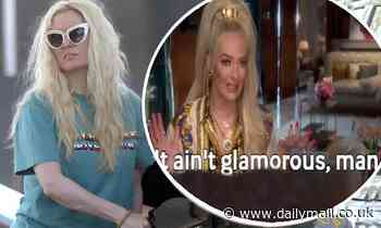 Erika Jayne hits back after being spotted pumping gas with no makeup and messy hair