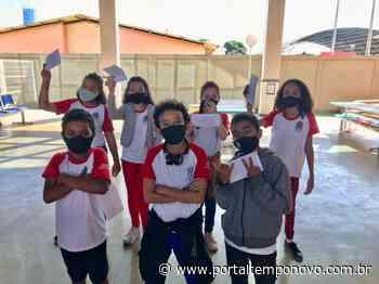 Covid-19 | Alunos de escola de Novo Horizonte fazem cartas de apoio para pacientes internados - Portal Tempo Novo