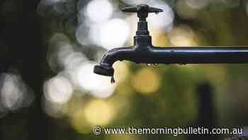 Unplanned water outage across Emerald - Morning Bulletin