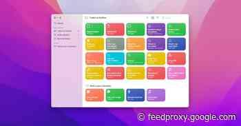 Hands-on: macOS Monterey brings new Shortcuts app