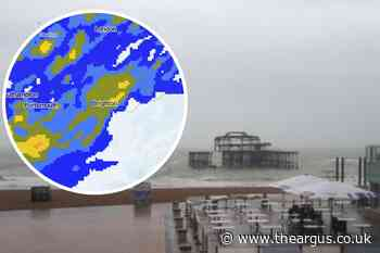 Met Office Weather: When will is stop raining in Brighton? - The Argus