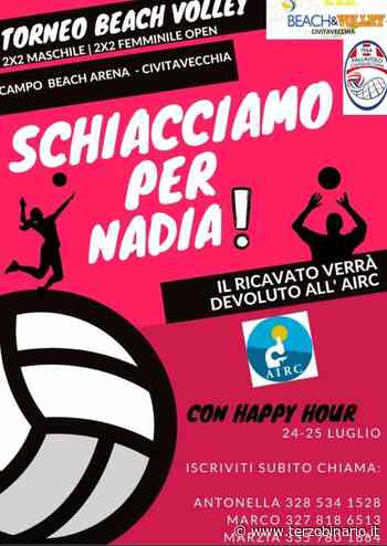 """La Beach Arena Civitavecchia ospita """"Schiacciamo per Nadia"""" - TerzoBinario.it"""