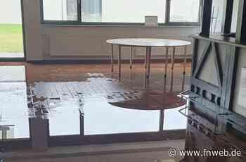 Untergeschoss der Tauberhalle überflutet - Tauberbischofsheim - Nachrichten und Informationen - Fränkische Nachrichten