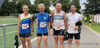 Erster Lauf nach über einem Jahr - Nibelungen Kurier