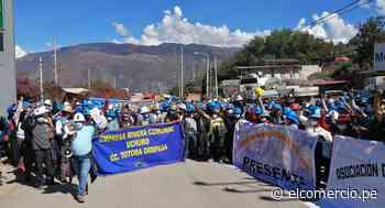 Apurímac: mineros artesanales bloquean vía interoceánica en Abancay - El Comercio Perú