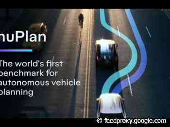 Motional's nuPlan dataset provides benchmarks in virtual autonomous driving